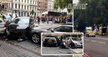 Автомобил се вряза в пешеходци край Музея по естествена история в Лондон