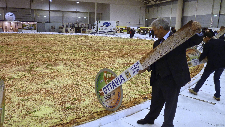 най-голямата пица в света