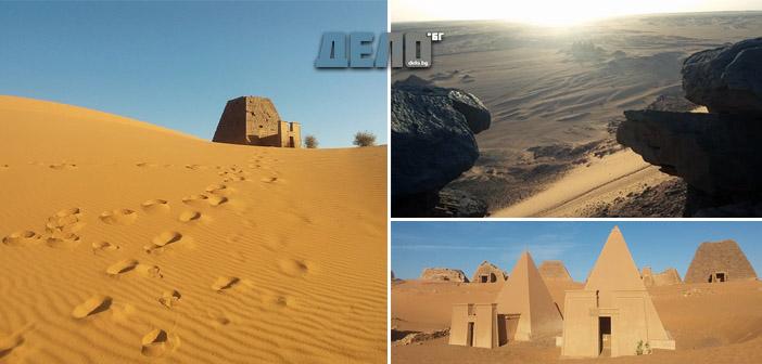 Загадките на нубийската пустиня, покрити с пясък и потънали във времето