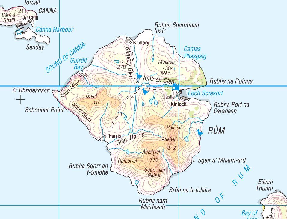 остров Ром