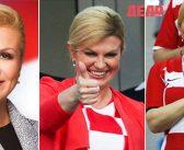 Хърватският президент Колинда Грабар-Китарович плени света с неподправена емоция и чар