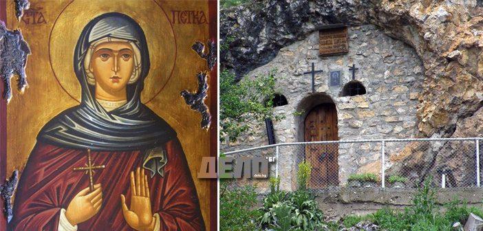 """В скалния храм """"Света Петка"""" над Трън се случват чудеса, а хора намират изцеление"""