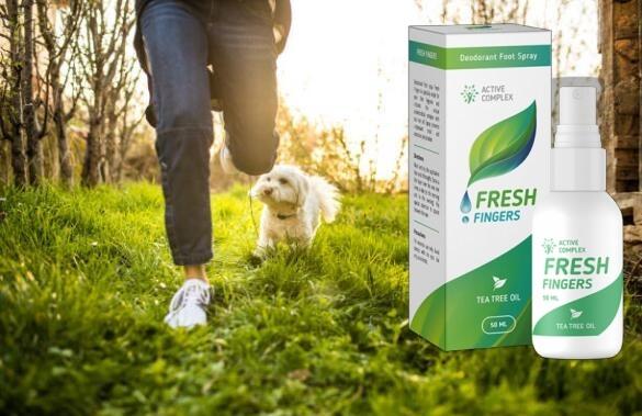fresh fingers, срещу миризма на краката