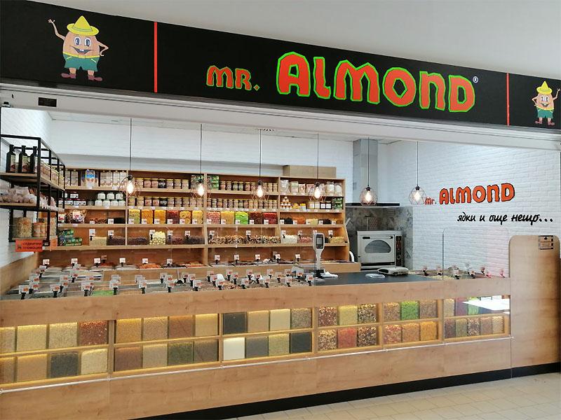 Mr. Almond - Ядки, сушени плодове, тахани