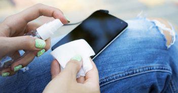 Как да почиствате смартфона си